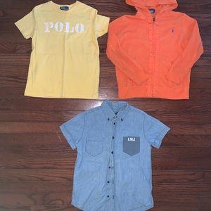 Boys Ralph Lauren Marc Jacobs shirt lot